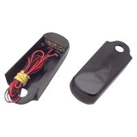 Alloy Art AA-SSL-BS Strut Light Kit w/Red Run/Brake & Amber Turn Signal Black for Blackline/Slim 11-17