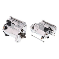 All Balls 80-1004 1.7kw Starter Motor Chrome for Big Twin 89-06