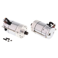 All Balls 80-1006 1.4kw Hitachi Starter Motor Chrome for Big Twin 70-88