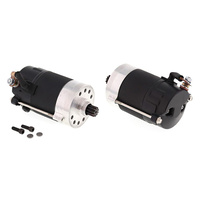 All Balls 80-1007 1.4kw Prestolite Starter Motor Black for Big Twin 66-82