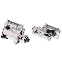 All Balls 80-1014 1.4kw Starter Motor Chrome for Softail 07-17/Dyna 06-17/Touring 07-16