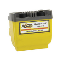 Accel 140406 Ignition Coil Yellow for Big Twin & Sportster 65-Up w/Points