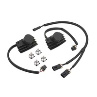 Accel 140411BI Ignition Coil Black for Softail 01-17/Touring 09-17 & Dyna 06-17
