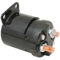 Accel 40111B Starter Solenoid Black for 4 Speed Big Twin 65-86/Softail 84-88 & Sportster 67-80