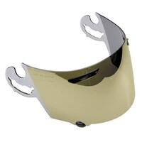 Arai AH011370 SAI Visor (Mirror Gold) for RX7/Quantum/NR Helmets
