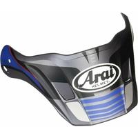 Arai Replacement Peak for XD-4 Helmets Vision Grey/Blue/Black