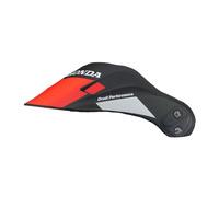 Arai Replacement Peak Africa Twin Wing Black for XD-4 Helmets