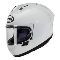 Arai RX-7V Racing Helmet White (F.I.M Approved w/2D Tear-Off Visor)