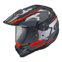 Arai XD-4 Helmet Depart Grey/Red