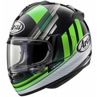 Arai Chaser-X Helmet Fence Gloss Green/Black