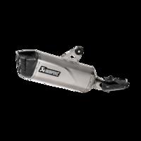 Akrapovic Slip-On Line Titanium Muffler System w/Carbon End Cap for BMW R 1250 GS/Adventure 2019