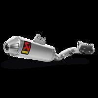 Akrapovic Evolution Line Titanium Full Exhaust System w/Titanium End Cap for Suzuki RM-Z 450 08-17