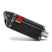 Akrapovic Slip-On Line Carbon Muffler System w/Carbon End Cap for Yamaha YZF-R6 08-09