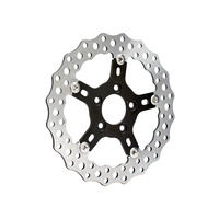 "Arlen Ness 02-787 Front 11.8"" Disc Rotor ""Jagged"" Style FXD'06-17, S/Tail'15up, XL'14up"