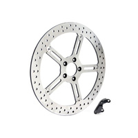 "Arlen Ness 02-969 Left Front 15"" Big Brake Kit for Sportster 14up"