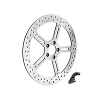 "Arlen Ness 02-972 Left Front 15"" Big Brake Kit Softail'15up & FXD'06up w/OEM 11.8"" disc"