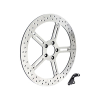 "Arlen Ness 02-973 Right Front 15"" Big Brake Kit Softail'15up & FXD'06up w/OEM 11.8"" disc"