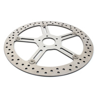 "Arlen Ness AN-02-983 15"" Big Brake Kit Polished Stainless Steel for FXBB/FXLR'18up LHF Round Hub Mount"