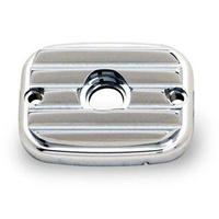 "Arlen Ness 03-448 Front Master Cylinder Cover ""Retro"" Chrome BT'06up (ex.FLH'08up)"