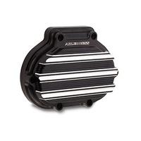 Arlen Ness 03-823 Hydraulic Clutch Cover 10-Gauge Black FLH'14up