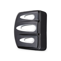 Arlen Ness 04-301 Deep Cut Coil Cover Black for Dyna 06up/FXST 00up Models w/EFI