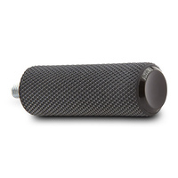 Arlen Ness 07-927 Shiftpeg Knurled Fusion Black