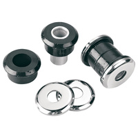 Arlen Ness 08-005 Heavy Duty Polyurethane Handlebar Damper Kit for most Big Twin 73-17/Sportster 73-03 (exc FLH 84up/XL 04up/Softail 18up)