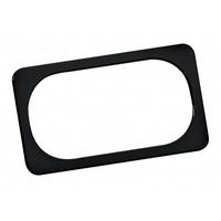 Arlen Ness 12-148 Licence Plate Frame Smooth Black