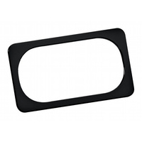 Arlen Ness 12-148 Licence Plate Frame Smooth Black