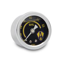 "Arlen Ness 15-655 Oil Pressure Gauge Replacement Chrome Kits 1-1/2"" Gauge"