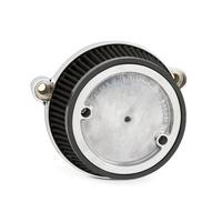 Arlen Ness 18-317 HiFlo Air Filter Chrome M8 FLH 17up Softail 18up (FLH Reqs Ness Cover)