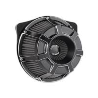 Arlen Ness 18-935 Air Filter Beveled Black BT'99up (exc FLH'08up w/TBW)