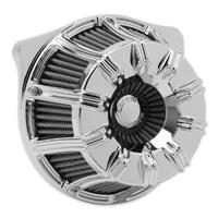 Arlen Ness 18-946 10-Gauge Air Filter Chrome for FLH'17up/Softail'18up M8