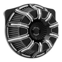 Arlen Ness 18-947 10-Gauge Air Filter Black for FLH'17up/Softail'18up M8