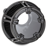 Arlen Ness 18-965 Air Filter Method Clear Black FLH 17up, Softail 18up M8