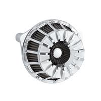 Arlen Ness 18-996 15-Spoke Air Filter Chrome for M8 17-up models