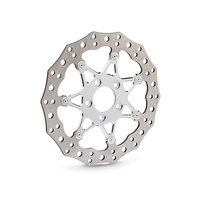 """Arlen Ness 33-10102-202 Chrome Front 11.8"""" in. Procross Two-Piece Floating Brake Rotor"""