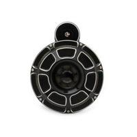 Arlen Ness 70-204 Horn Beveled Black Universal Most '91up (Loud 110dB)