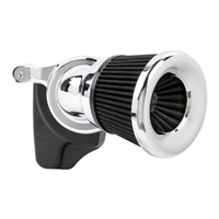 Arlen Ness AN-81-207 Velocity 65 Degree Air Cleaner Kit Chrome for Sportster 91-Up