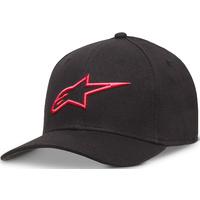 Alpinestars Ageless Hat (Curved Bill/Flex Back) Black/Red