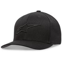 Alpinestars Ageless Hat (Curved Bill/Flex Back) Black/Black