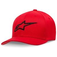 Alpinestars Ageless Hat (Curved Bill/Flex Back) Red/Black