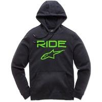 Alpinestars Ride 2.0 Pullover Fleece Black/Green