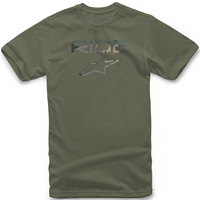 Alpinestars Ride 2.0 Camo Tee Military Green
