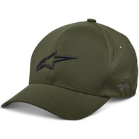 Alpinestars Ageless Delta Hat (Curved Bill/Flex Back) Military Green