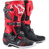 Alpinestars 2021 Tech 10 Boots Red/Black