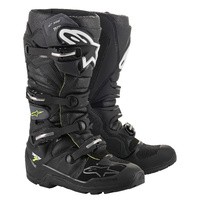 Tech 7 Drystar Enduro Boots Black/Grey