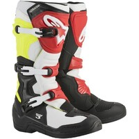 Alpinestars Tech 3 Boots Black/White/Fluro Yellow/Red