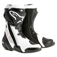 Alpinestars Supertech R Boots Black/White