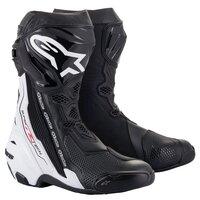 Alpinestars Supertech R V2 Boots Black/White